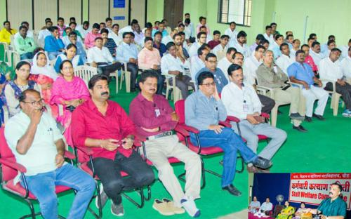 Employees Welfare Committee Program Guest Dr.Sandeep Sisode &Dr. Aparna Ashtaputre